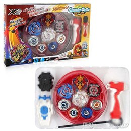 $enCountryForm.capitalKeyWord NZ - New 4PCS suit Boxed Beyblade Burst 4D bayblades Set With Launcher Arena Metal Fighting spinning Battle Fusion Classic Toys With Original Box