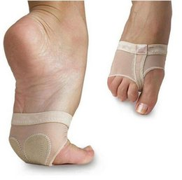 Cushion feet shipping online shopping - Hot Sale Ballet Dance Paws Cover Foot Forefoot Toe protector Cushion Pad Half Protection Pairs