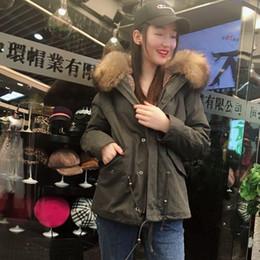 $enCountryForm.capitalKeyWord Australia - 2018 Khaki Short Parka Women Winter New Arrival Natural Collar Winter Thickness Fake Fur Coat