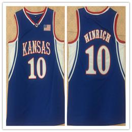 415cd89ed15 Kansas Basketball UK - 10 KIRK HINRICH Kansas Jayhawks retro Men s  Basketball Jersey Stitched Customize any