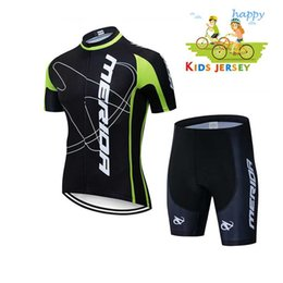bicycles for children Canada - Boys 2020 nvvtrek Girl Pro Cycling Jersey Set Ropa Ciclismo Cycling Kit for Kids Breathable Quick Dry Bicycle Clothing Children