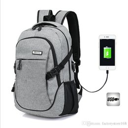$enCountryForm.capitalKeyWord Australia - Fashion Laptop Backpack Business Lightweight Water Hiking Camping Outdoor Rucksack School backpack with USB Charging Port