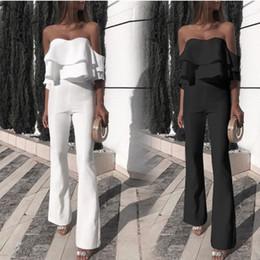 a88f94d58bd0 Pantalones De Pierna Ancha Mono Blanco Online | Pantalones De Pierna ...