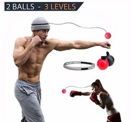 $enCountryForm.capitalKeyWord Australia - Reflex Punching Ball Ideal Punching Speed Traning Ball for Self Defence Boxing MMA and Other Combat Sports 2 Different ball