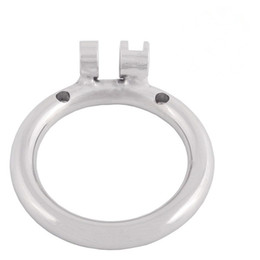 $enCountryForm.capitalKeyWord UK - Stainless Chastity Device Base Ring Male Cock Cage Spares