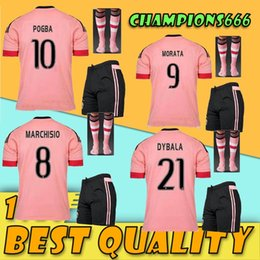 ccab772eb Pink Soccer Jerseys Canada - 2015 2016 Men kit Pink 15 16 soccer jersey +  socks