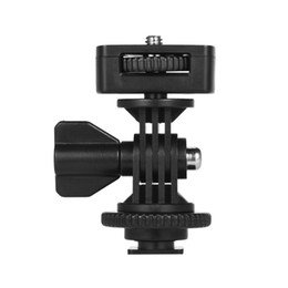 "Chinese  shoe mount Universal Adjustable Cold Hot Shoe Mount Holder Adapter with 1 4"" Screw for Viltrox and other Brands LED Light Video Monitor manufacturers"