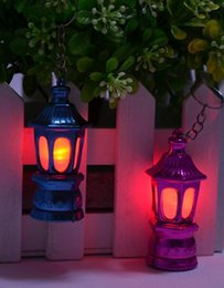 $enCountryForm.capitalKeyWord Australia - 2000pcs Ramadan Lantern Keychain Led Light with AG3 batteries Outdoor tools size 6.2*2.8cm