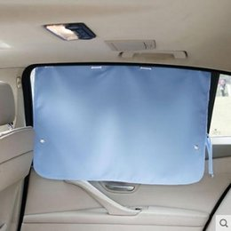 uv sun block Australia - Car interior sunshade car window sun block heat insulation curtain plate suction cup side window cloth glass sun universal model