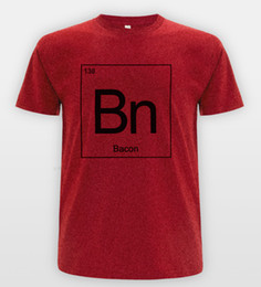 34a80135 Funny Science T Shirts Australia - BACON Periodic Table T-shirt Funny  Science Hipster Joke