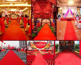 $enCountryForm.capitalKeyWord Australia - Wholesale Wedding Centerpieces Favors Marriage Disposable Carpet Marriage Carpet Red Carpet Wedding Carpets Chinese Style