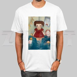Discount red color hip hop t shirt Melanie Martinez Cry Baby Hip Hop Hipster Vogue T Shirts Fashion Men And Women Top T-shirt Short Sleeve Unisex Tshirt St