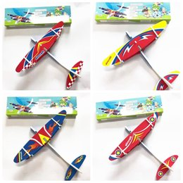$enCountryForm.capitalKeyWord NZ - Kids Electric Aircraft Toy Airplane Model Hand Throw Plane Foam Launch Flying Glider Plane Outdoor Game Interesting Toys MMA1897