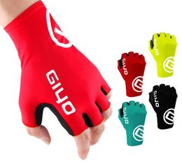 mtb gloves half fingers NZ - Half Finger Cycling Gloves Bicycle Riding Gloves Anti Slip For MTB Road Mountain Bike Glove Anti Shock Sport Fitness Ciclismo