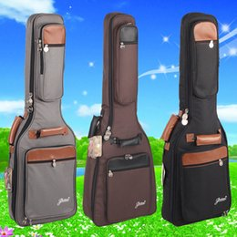 $enCountryForm.capitalKeyWord NZ - good quality thick general electric guitar bag acoustic package shockproof waterproof case packs bags backpack free shipping