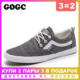 $enCountryForm.capitalKeyWord Australia - GOGC 2019 New spring Casual Shoes Men Sneakers Canvas Shoes Men Flat Lace-Up Vulcanized Loafers slipony G948