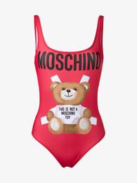 Wholesale swimwear women online – Designer Women Sexy Swimwear One Piece Bathing Suit High Quality Designer Summer Brand Bikini Thin Padded Swimsuit Luxury B2t L
