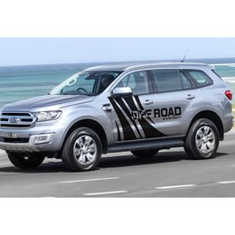 personal decal 2019 - for ford everest 2015 customize car decals 2pc side body off road personal styling protect scratch graphic vinyl car sti