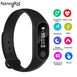 $enCountryForm.capitalKeyWord Australia - Smart Band IP67 Waterproof Band Heart Rate Monitor Smart Bracelet Fitness Tracker Pedometer Wristband for Women Men Sport Watch