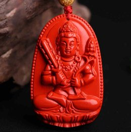 $enCountryForm.capitalKeyWord Australia - Natural red cinnabar 12 Zodiac belongs to the patron saint pendant male and female models of the life Buddha pendant manufacturers wholesale