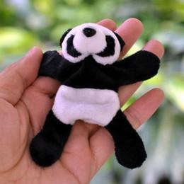 Souvenir Magnets Wholesale NZ - 1Pc Cute Soft Plush Panda Fridge Magnet Refrigerator Sticker Gift Souvenir Decor #XJSY
