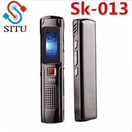 Mini Digital Audio Australia - SITU Portable Business Digital Audio Voice Recorder Pen Mini Stereo Recording Pen HD MP3 Music Player With LCD Display