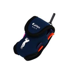 $enCountryForm.capitalKeyWord UK - Golf Small Pocket + 2 Balls + Four Balls Tee Small Golf Waist Bag Ball Pocket Tee Pouch Holder Neoprene Ball Bag