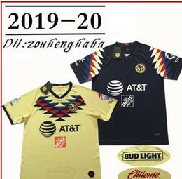 ee2eceeb5 Club America jerseys 2019 20 LIGA MX 24# O.PERALTA 8# MATHEUS 10#  C.DOMINGUEZ 14# R.SAMBUEZA 22# P.AGUILAR Football Shirt