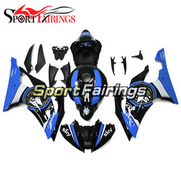 $enCountryForm.capitalKeyWord UK - Plastic ABS Injection Fairings For Yamaha YZF600 R6 2008-2016 Year 08-16 Cowlings Motorcycle Fairing Body Kit Frames Blue Black Panels Cover