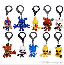 $enCountryForm.capitalKeyWord Australia - Pretty T43 Promotion five nights Childrens Halloween gift Keychain Baby Groot, Batman, DeadPool Vinyl Figure Keyring Hot wholesales