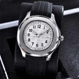 Wholesale Fashion Nautilus Watch Men Automatic Luxury Watches Colors Rubber Strap Sports Watch Mens Military Automatic Mechanical Orologio di Lusso