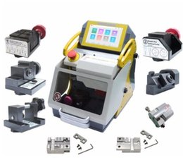 China Machine High Australia - DHL Free China High Security Smart Locksmith Tools SEC-E9 Car Key Cutting Machine With All Car Key Jaws 2019 With CE Certification New