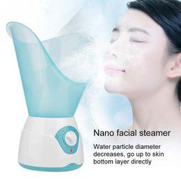 $enCountryForm.capitalKeyWord Australia - 50ml Nano Face Moisturizing Steamer Facial Mister Warm Cold Mist Atomization Sprayer Facicl Care Tools EU Plug 220V a