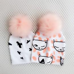 $enCountryForm.capitalKeyWord Australia - Fashion Newborn Baby Set Children Hat Cap For Girls Boy Baby Born Care Infant Toddler Hats Bonnet Skull Beanies Props For Kids