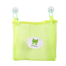$enCountryForm.capitalKeyWord Australia - Baby Kids Bath Time Tidy Storage Toy Suction Cup Bag Mesh Bathroom Organiser Net Boite De Rangement Storage Organizer Bag