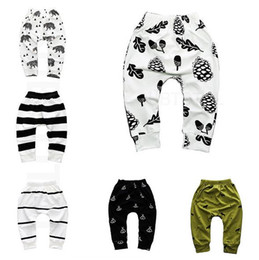 $enCountryForm.capitalKeyWord Australia - 2019 hot sale Print Pattern Cotton Baby Trousers Boys Girls PP Pants For Sports Baby Harem Pants Kids For Newborn Girl Boy Clothing