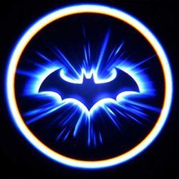 Car Lights Australia - Welcome Light, Mini 3D LEDLaser Projector Logo Batman Shadow Light, Car-Styling Car Interior Decoration Light Compatible Most Cars