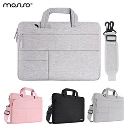 Solid State computerS online shopping - Mosiso Laptop Polyester Shoulder Bag inch for Macbook Air Pro Computer Pocket Handbag for Hp Samsung Dell