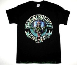 Wholesale The Almighty Free N Easy Hard Heavy Band The Wildhearts New Black T shirt