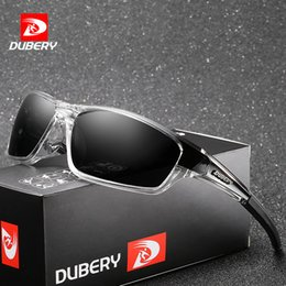 Models Glasses Australia - DUBERY Brand Design Men's Glasses Polarized Black Driver Sunglasses UV400 Shades Retro Fashion Sun Glass For Men Model 620