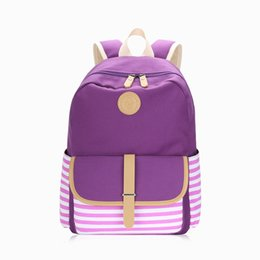$enCountryForm.capitalKeyWord Australia - Cross-border backpack direct factory price Korean-style Navy style canvas bag female backpack middle school students school bag