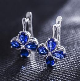 6a8612def Swarovski Zirconia Stud Earrings Australia - Fashion Women Earrings  Swarovski Zirconia Elements Jewelry High Quality Austrian