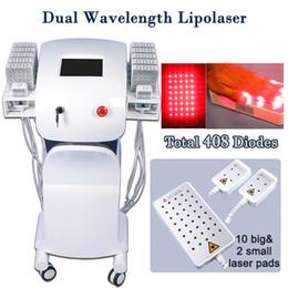 Fat reduction machines online shopping - lipo laser slimming lllt fat melting laser machine pro lipolaser machine for sale cellulite reduction dual wavelength
