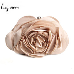 $enCountryForm.capitalKeyWord NZ - Hot Sale Evening Bag Flower Bride Bag Purse full dress Party handbag Wedding day Clutches All Match Colorful Totes EB034