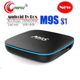 Best Media Player Android Australia - Best M9S S1 Allwinner H3 1G 8G Android 7.1 TV BOX Quad Core Ultra HD H.265 4K Stream Media Player Better Amlogic S905W X96 TX3 S912