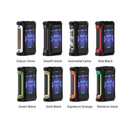 Опт Оригинальный GeekVape эгидой x 200 Вт TC коробка мод электронные сигареты Vape коробки двойной аккумулятор 18650 наборы модов с расширенными, как чипсет