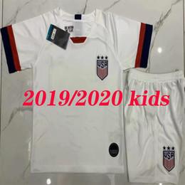 25120cc87 2019 2020 USA Kids kits PULISIC Soccer Jersey 2020 MORGAN DEMPSEY BRADLEY  ALTIDORE WOOD America child Football child United States Shirt
