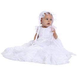 $enCountryForm.capitalKeyWord UK - Yatheen Baby girl Newborn-9month Tiered-hem Christening Gown Baby Special Occasion Dresses
