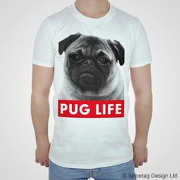 $enCountryForm.capitalKeyWord Australia - PUG LIFE Tshirt Dope T shirt Hipster Swag Dogs Mens Womens Top Fashion Puppy Tee suit hat pink t-shirt