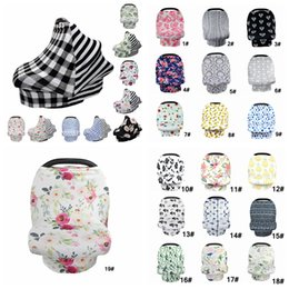 Baby Shawl Wholesale Australia - Baby Floral Feeding Nursing Cover 25Styles Newborn Toddler Breastfeeding Privacy Scarf Cover Shawl Car Seat Stroller Canopy Tools AAA2118